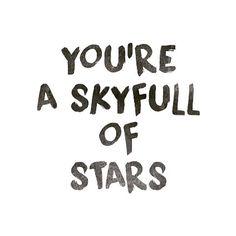 ✧ a sky full of stars // coldplay: daniellieee123 ✧