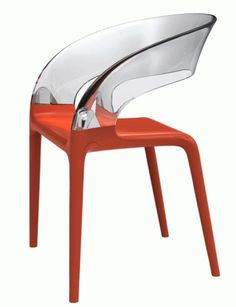 Ring Chair from Driade  Availabe in red, white, grey or dark brown