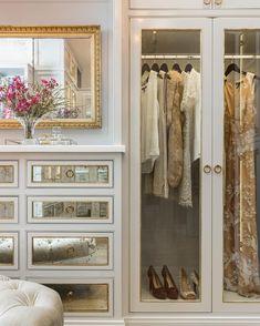 48 Ideas clothes closet design dressing rooms for 2019 Walk In Closet Design, Closet Designs, Wardrobe Design, Master Closet, Closet Bedroom, Closet Space, Master Bedroom, Armoire Dressing, Closet Vanity