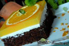 Prajitura Fanta - GustoLandia | GustoLandia Pudding, Mai, Desserts, Food, Tailgate Desserts, Deserts, Custard Pudding, Essen, Puddings