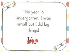 Kindergarten Memory Book fingerprint idea by Robin Sellers