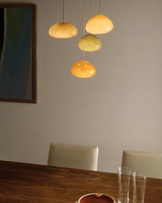 River Rock Chandelier by Tech Lighting. #lighting #pendant #pendantlighting #diningroom #dininglighting #TechLighting