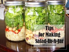 Fitness Friday    Tips On Making Salad-In-A-Jar   Jill Conyers