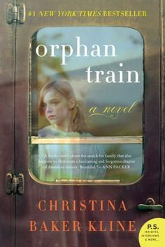 Orphan Train, by Christina Baker Kline.   Penobscot Indian Molly Ayer is close to 'aging out' out of the foster care system. A community service position helping an elderly woman clean out her home is the only thing keeping Molly out of juvie and worse. As she helps Vivian sort through her possessions and memories, Molly learns that she and Vivian aren't as different as they seem to be.