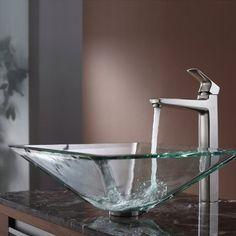 Kraus C-GVS-901-19mm-15500BN Clear Aquamarine Glass Vessel Sink and Virtus Faucet, Brushed Nickel by Kraus, http://www.amazon.com/dp/B006ZTEUKQ/ref=cm_sw_r_pi_dp_aiSPrb1WVQ3JB