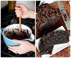 Chocolate chocolate banana bread