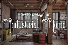 3 Endless Tips AND Tricks: Modern Vintage Home Decor modern vintage home decor front doors.Vintage Home Decor Chic Living Spaces vintage home decor diy dollar stores.Vintage Home Decor Farmhouse Shabby Chic. Modern Industrial Decor, Rustic Chic Decor, Industrial Home Design, Industrial Interiors, Industrial House, Industrial Style, Modern Decor, Industrial Furniture, Rustic Wood