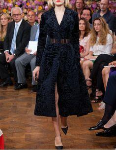 Christian Dior : Haute couture Automne hiver 2012/2013.