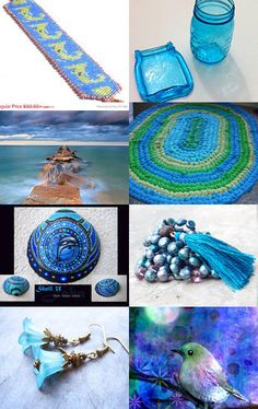 Beautiful in Blue by Catherine Chappell on Etsy--Pinned with TreasuryPin.com