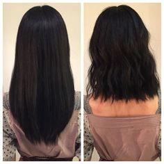 Haircut Lob Texture Beach Waves 41 New Ideas Trendy Haircut, Haircuts For Long Hair, Long Bob Hairstyles, Haircut Short, Waves Haircut, Medium Length Haircuts, Medium Hair Cuts, Short Hair Cuts, Medium Hair Styles