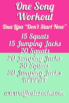 One Song Workouts, Workout Songs, Song Workout Challenge, Girl Dj, Cheer Coaches, Get Moving, Stay In Shape, Atlanta, Glow