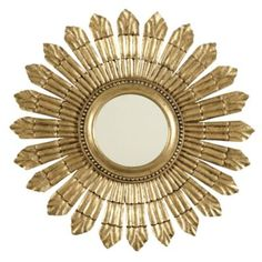 I like Sunburst mirrors after all, I am a space physicist. This one is a good size for the dining area.