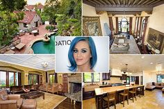 Katy Perry Celebrity Homes Club Fashionista Rich Home Los Angeles