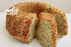 Yumuşacık Susamlı Haşhaşlı Limonlu Kek (Çok Kabaran) Tarifi Easy Cake Recipes, Low Carb Recipes, Yummy Recipes, Pasta Cake, Belgian Food, Belgian Recipes, Turkish Recipes, Ethnic Recipes, Sweet Cakes