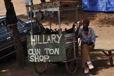 She has her own store in Africa.  | 45 Totally Superficial Reasons Why Hillary Clinton Should Run For President In 2016