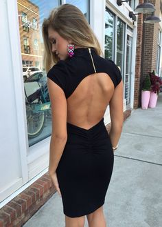Open back stunner #swoonboutique