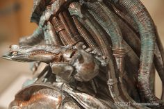 predator sculpture