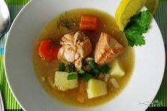 Şifalı Sebzeli Somon Çorbası