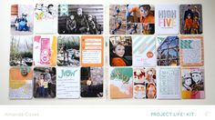 itsmeamanda : our project life: Project Life Week 12 Hello Hello Studio Calico