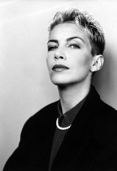 Annie Lennox. She was great at the Grammys last night!
