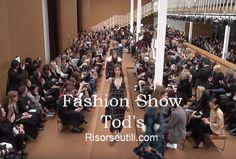 Fashion show Tod's fall winter 2016 2017 womenswear