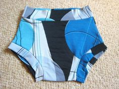 Boy cut brief unisex underwear pattern PDF -- I may have to buy this pattern!