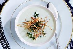 Mushroom and Leek Soup with Parsley Dumplings   Recipe   Leek Soup ...