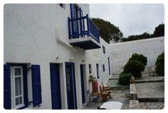 에게 해의 미풍이 가득한 그리스의 미코노스.