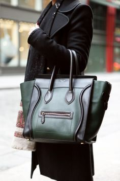 Bag Stalking: 20 Street Snaps To Inspire Your Winter Arm Candy