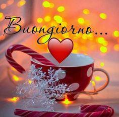 Saraseragmail.com.. Buongiorno. Italian Love Quotes, Italian Memes, Good Morning Gif, Good Morning Quotes, Christmas Animals, Christmas Art, Italian Greetings, Morning Greetings Quotes, Italian Christmas