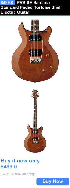 musical instruments: Prs Se Santana Standard Faded Tortoise Shell Electric Guitar BUY IT NOW ONLY: $499.0