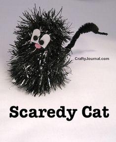 Scaredy Cat by Crafty Journal