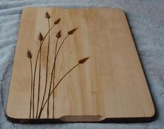 wood burning platter