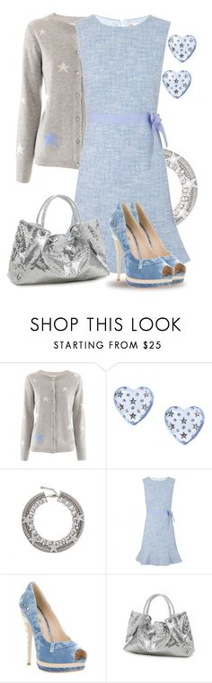"""""""Shine Bright"""" by yasminasdream ❤ liked on Polyvore featuring PHILO-SOFIE, Betsey Johnson, DANNIJO, RED Valentino and MBaoBao"""