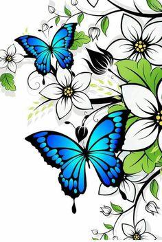 Galerie de mosaïques de verre par Seba – Glass mosaics gallery by Seba: by Magn… Glass mosaic gallery by Seba – Glass mosaics gallery by Seba: by Flower Art Drawing, Butterfly Drawing, Butterfly Tattoo Designs, Butterfly Painting, Butterfly Crafts, Butterfly Wallpaper, Butterfly Flowers, Beautiful Butterflies, Butterfly Mosaic