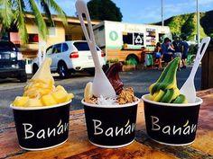 ハワイの地産地消! 新しいスタイルのフローズンデザート「Banan」
