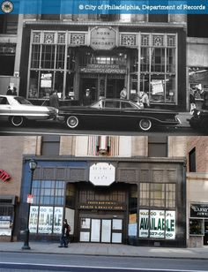 Then And Now Chestnut Street Philadelphia