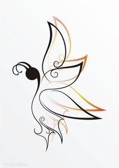 100+Beautiful+butterfly+tattoos+for+women+(59).jpg (300×424)
