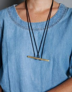 find something with 3 holes in it moving mountains // suspension necklace