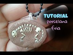 tutorial Fósil de dinosaurio de *PORCELANA FRIA*