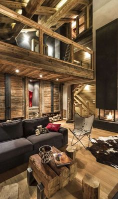 The highest 20 most stunning mountain chalet interiors - House ideas