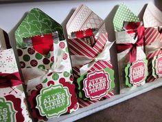 Diese Goodies bekamen die Gäste auf meinen Weihnachtsworkshops. Sie sind super schnell gemacht und ich hab gleich noch einige auf Vorrat her...