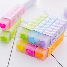 Cool Erasers, School Suplies, School Accessories, Locker Accessories, Stationary School, Cute Pens, Pencil Eraser, School Items, School Stuff