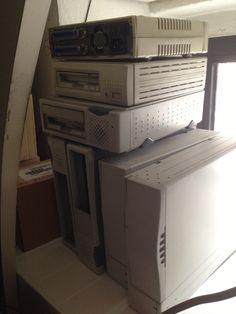 I miei device SCSI... Antichità :)