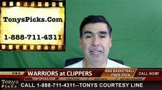 Golden St Warriors vs. LA Clippers Free NBA Basketball Picks and Predict...