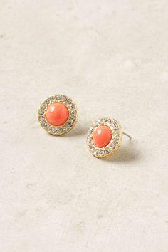encircled posts earrings // anthropologie