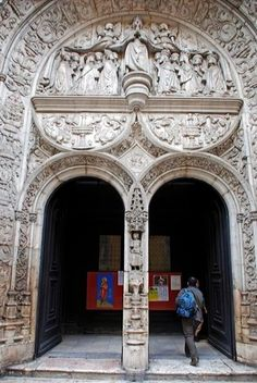 Main door of Church Conceição a Velha #Lisboa #Portugal ©Luis Novo