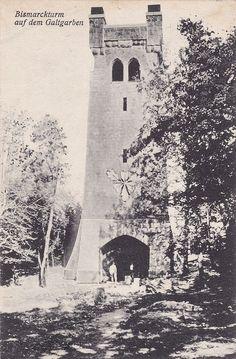 Samland (Ostpreußen) Bismarckturm auf dem Galtgarben um 1937