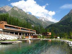 Gradonna Mountain Resort - #valley #mountains #naturalpool #oesterreich #austria #nachhaltigkeit #reise #travel #sustainability #ecofriendly #architecture