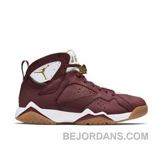 huge discount ceefa 5b35d Authentic Air Jordan 7 Retro C C Team Red Metallic Gold-Sail-Gum Light  Brown from Reliable Big Discount! Authentic Air Jordan 7 Retro C C Team  Red Metallic ...